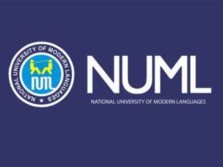 NUML Merit Scholarship, Pakistan for Bachelor, Master