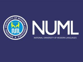 NUML Merit Scholarship, Pakistan for Bachelor, Master
